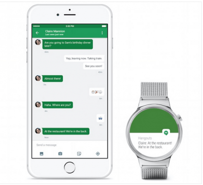 Android Wear per iOS