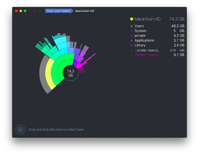 DaisyDisk applicazioni per mac avrmagazine 2