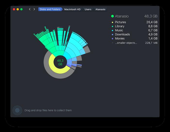 DaisyDisk applicazioni per mac avrmagazine 4