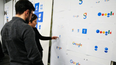 Google: studi per il nuovo logo