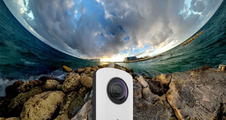 Capture Your World With 360-Degree Panoramic Ricoh Theta Camera