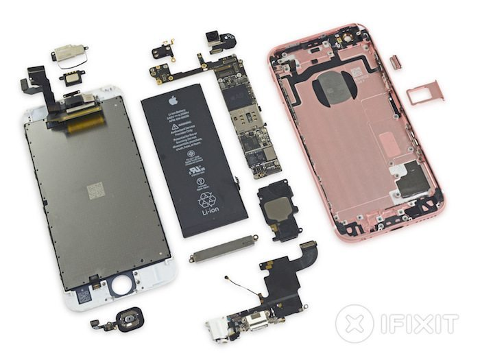 iPhone 6s teardown avrmagazine 2