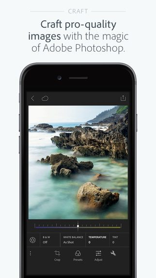 Lightroom per iphone avrmagazine 2