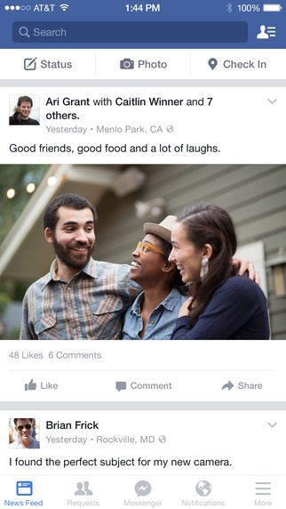facebook applicazioni per iphone avrmagazine 1