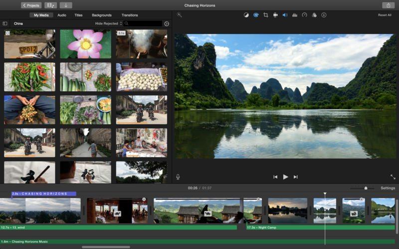 iMovie iMac4k avrmagazine 2