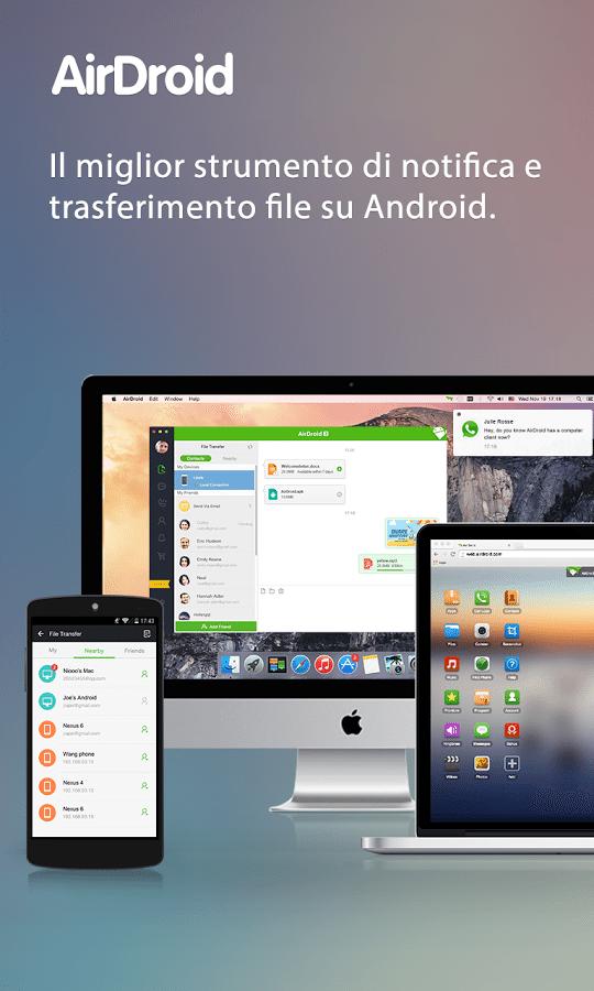 Airdroid applicazioni per Android Avrmagazine 2