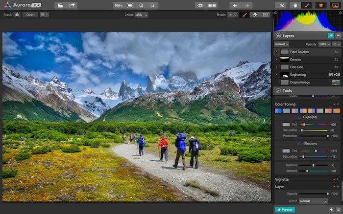 Aurora HDR applicaizoni per Mac 4
