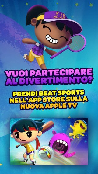 Beat-Sports-giochi per Apple Tv avrmagazine