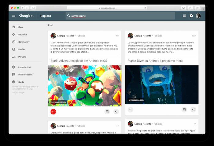 Google + avrmagazine 1