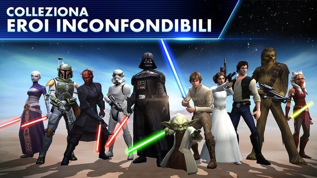 Star Wars Galaxy of Heroes giochi per iphone avrmagazine 2