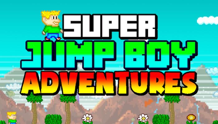 Super Jump Boy adventures avrmagazine 1