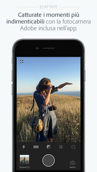 Adobe Photoshop Lightroom applicazioni per iphone avrmagazine 2