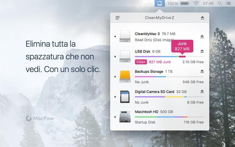 CleanMyDrive 2 applicazioni per Mac avrmagazine 2