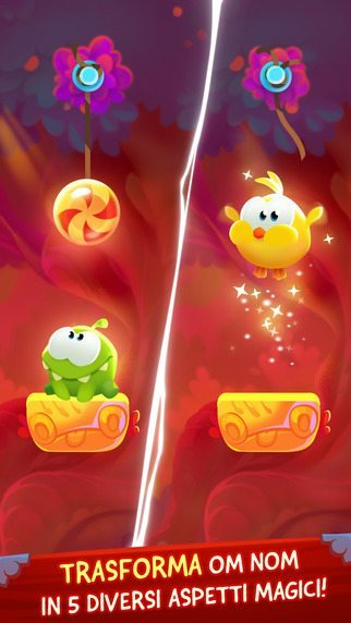 Cut the rope magic giochi per iphone avrmagazine 1