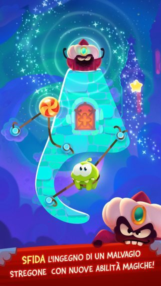 Cut the rope magic giochi per iphone avrmagazine 2