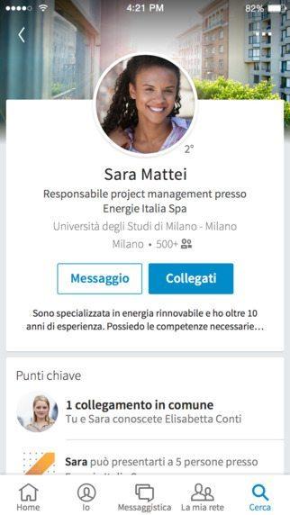 LinkedIn applicazioni per iphone avrmagazine 2