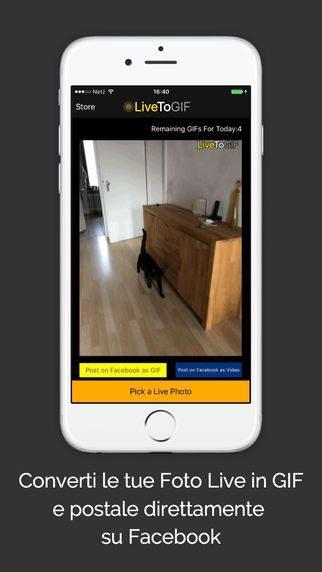 Live to GIF applicazioni per iphone avrmagazine 1