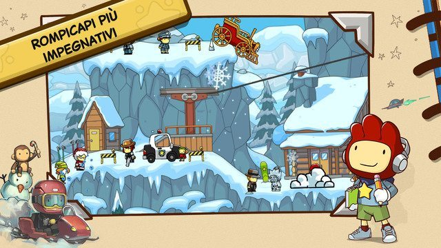 Scribblenauts Unlimited giochi per iphone avrmagazine 1