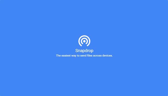 SnapDrop avrmagazine