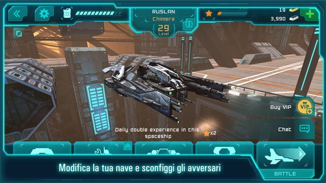 Space Jet 3D giochi per iphone avrmagazine 2