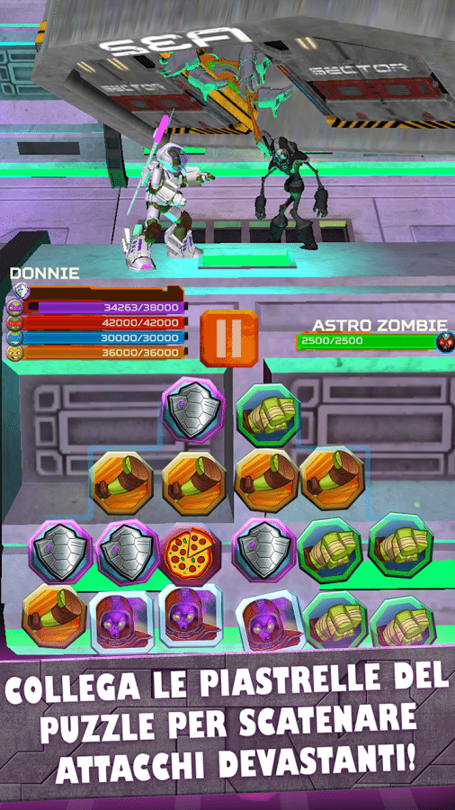 TMNT Battle Match gicohi per iphone avrmagazine 1