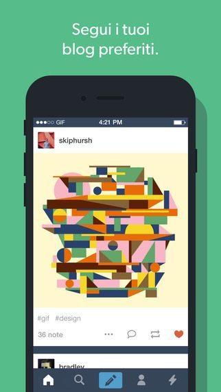 Tumbl 5.0 applicazioni per iPhone avrmagazine 1