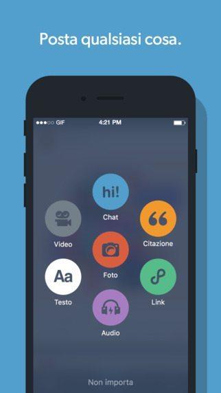 Tumbl 5.0 applicazioni per iPhone avrmagazine 2