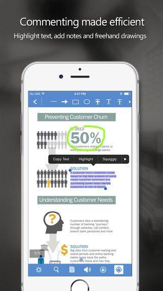 Foxit PDF applicazioni per iphone avrmagazine 2