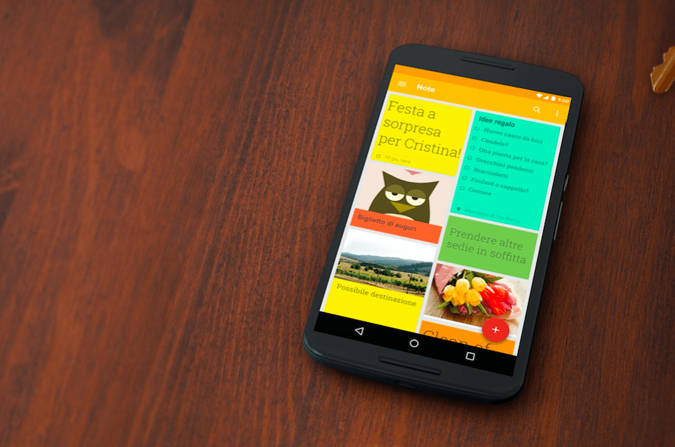 Google Keep avrmagazine