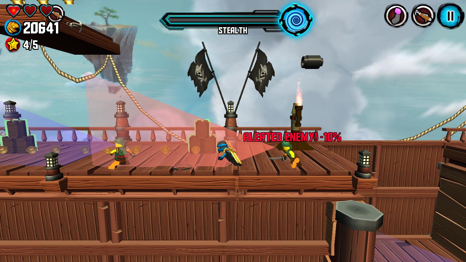 LEGO Ninjago Skybound giochi per Android avrmagazine 1