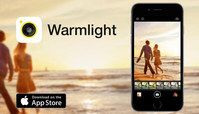 Warmlight  applicazioni per iphone