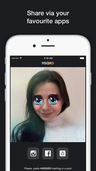 MSQRD giochi per iPhone avrmagazine 1