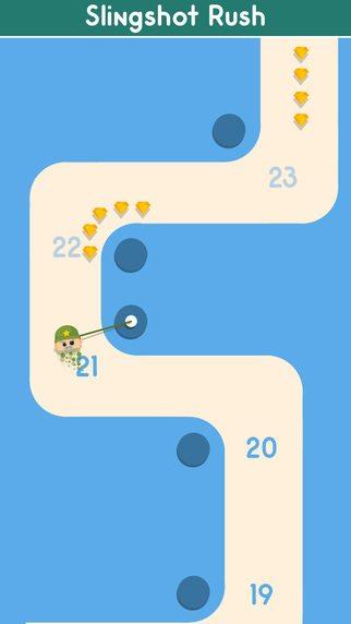 Slingshot Rush giochi per iPhone avrmagazine 2