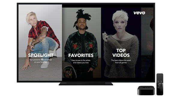 Vevo-for-Apple-TV-4-app