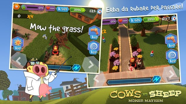 Cows Vs Sheep giochi per iPhone avrmagazine 1