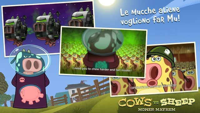 Cows Vs Sheep giochi per iPhone avrmagazine 2