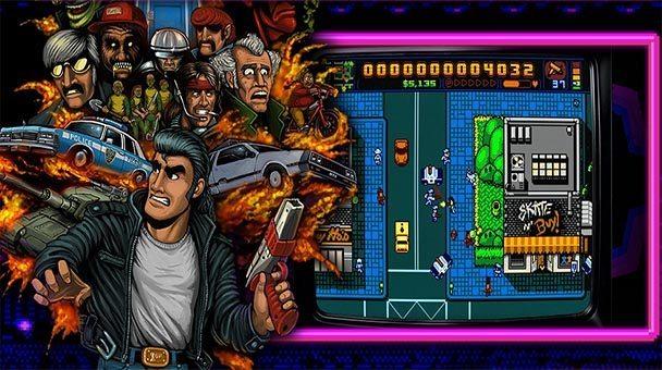 Retro City Rampage DX giochi per iPhone avrmagazine 2