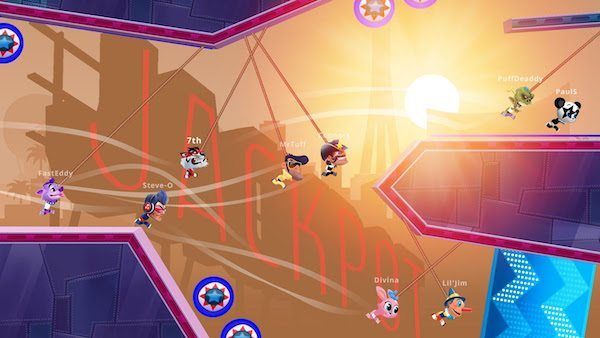 Rope Racers gicohi per Android avrmagazine