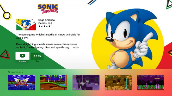 Sonic giochi Apple Tv avrmagazine