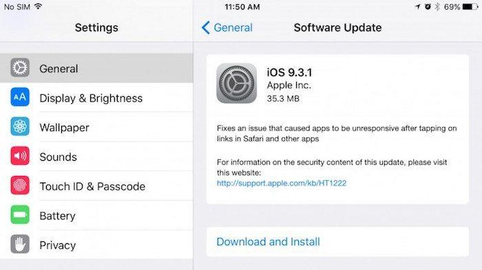 iOS 9.3.1 avrmagazine