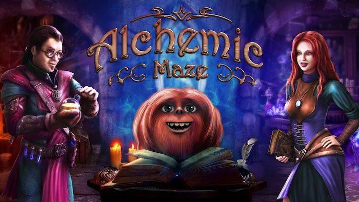 Alchemic Maze avrmagazine