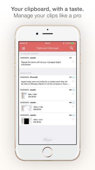 Clippo applicaizoni per iPhonr avrmagazine 2