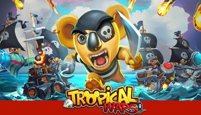 Tropical Wars giochi per iphone avrnagazine