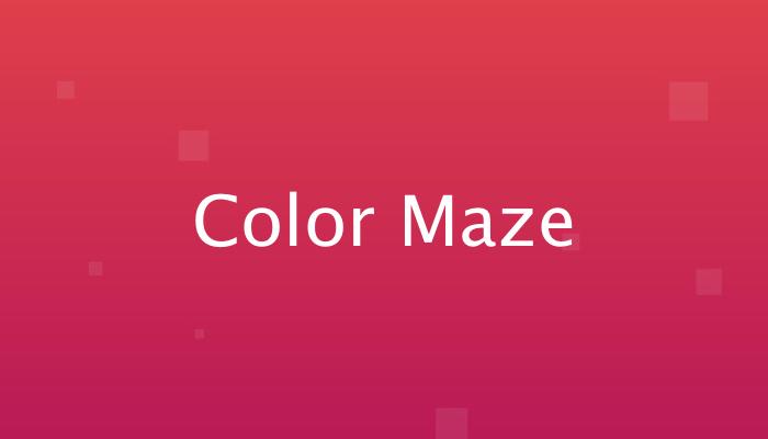 Color Maze avrmagazine