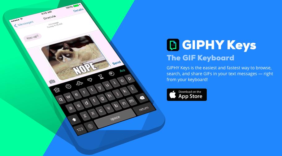 Giphy Keys avrmagazine