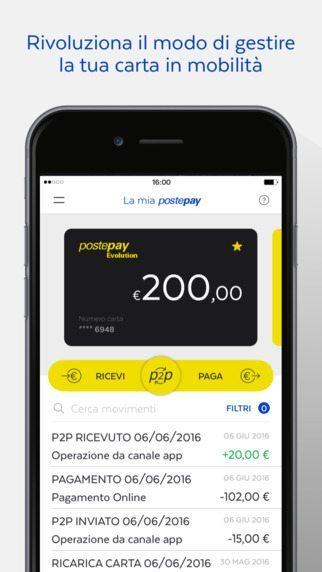 Postepay applicazioni per iPhone avrmagazine 2