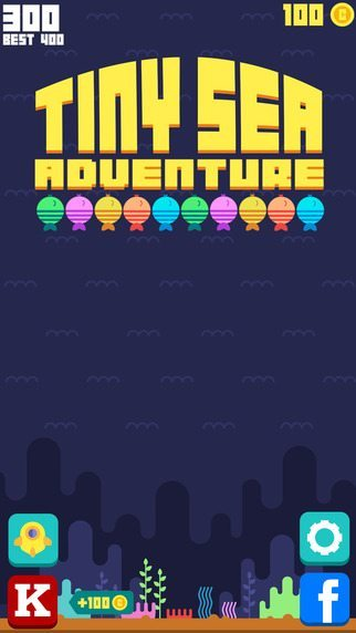 Tiny Sea Adventure giochi per iPhone avrmagazine 2