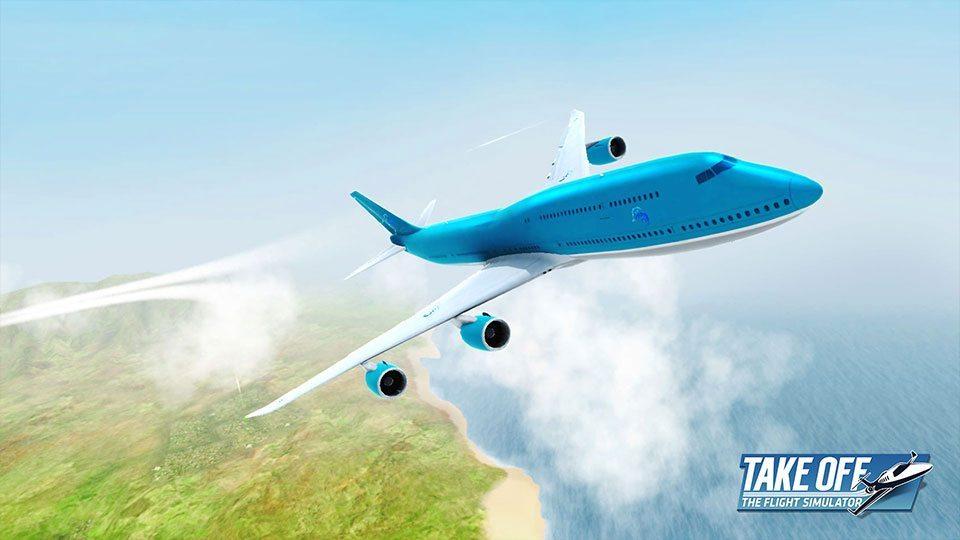 Take off at magazine
