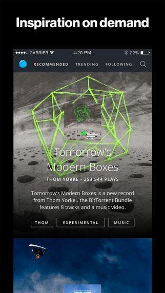 BitTorrent Now applicazioni per iphone avrmagazine 2
