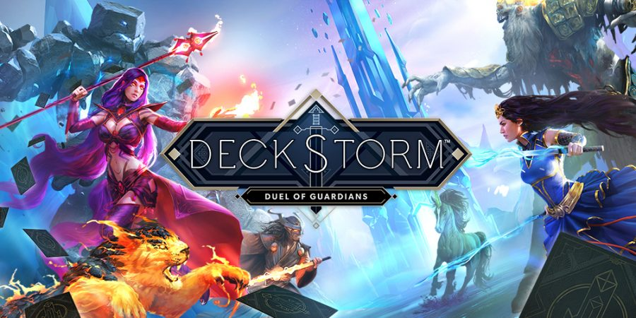 Deckstorm Duel of Guardians giochi per Android Avr magazine